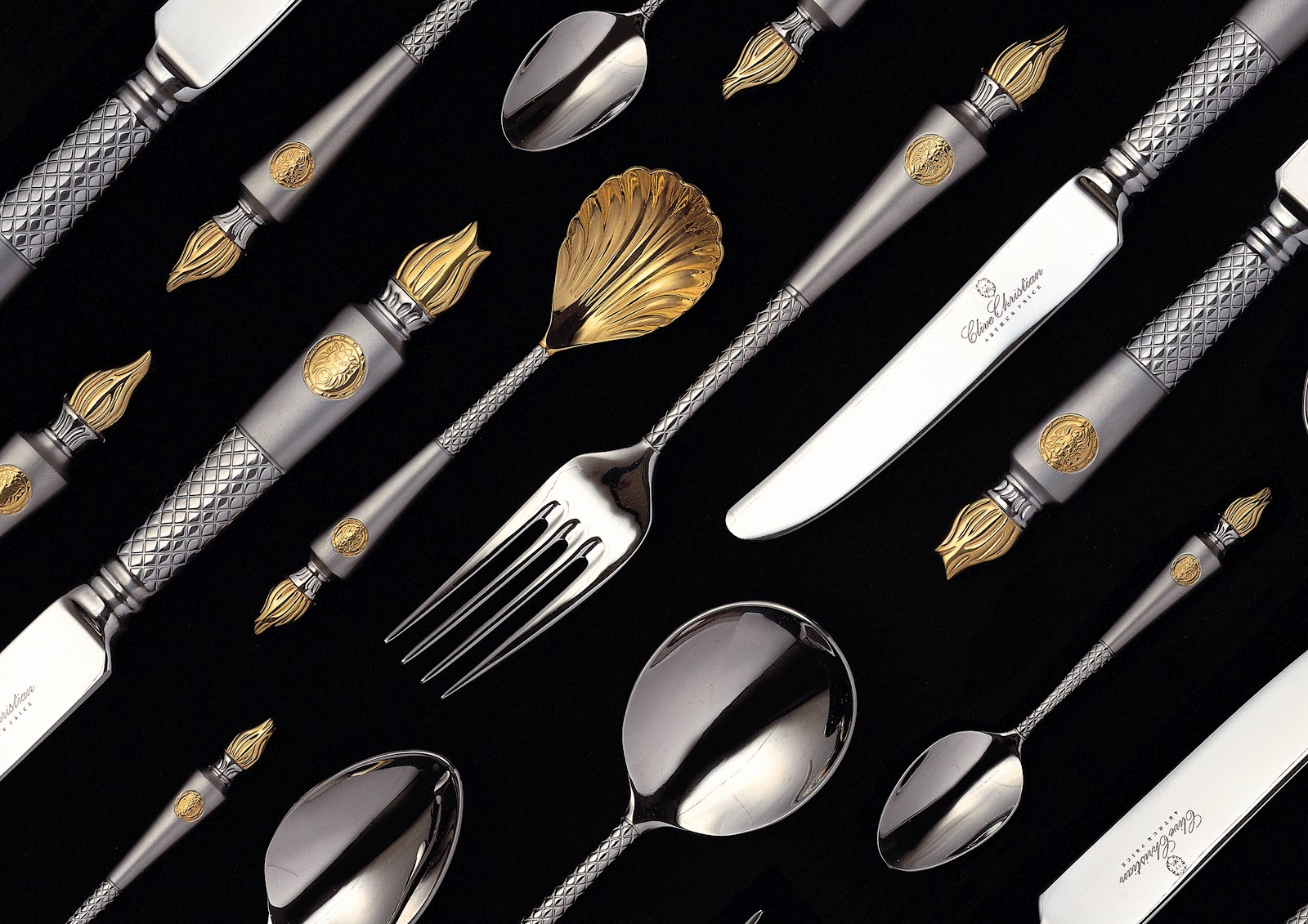 High End Cutlery Tradition Interiors Of Nottingham Clive Christian Empire